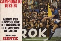 Album delle figurine Gente 1973/74