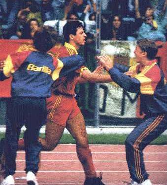 Rizzitelli Ruggiero, attaccante della Roma anni 90