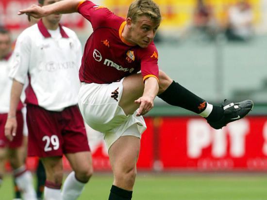 2002/03 Roma-Torino 3-1, il primo gol di De Rossi