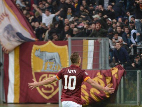 Le più belle esultanze di Francesco Totti