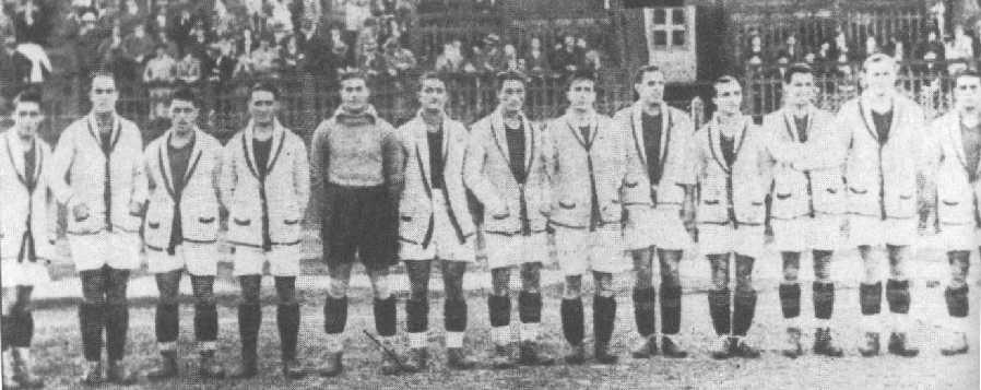 Campionato 1929/30 Inaugurazione Campo Testaccio