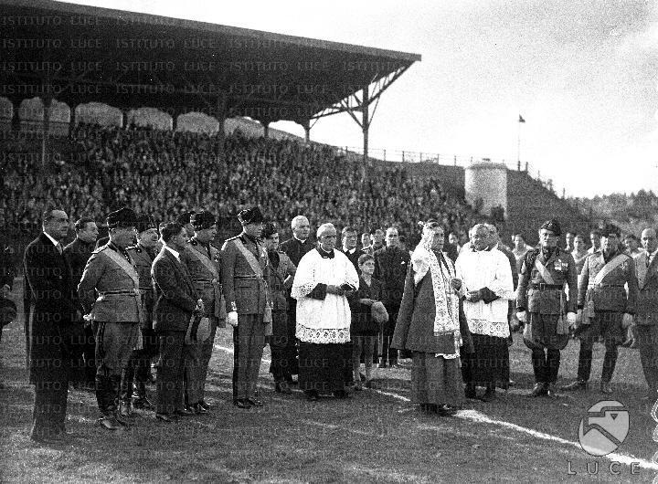 1929/30, l'inaugurazione di Campo Testaccio