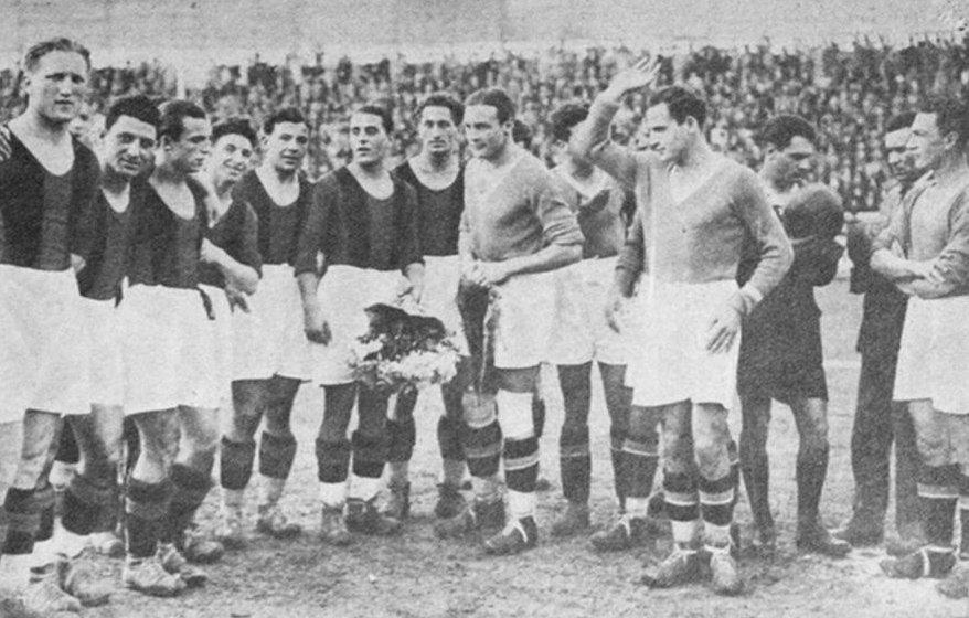 primo campionato seria a 1929/30 primo derby Lazio-Roma