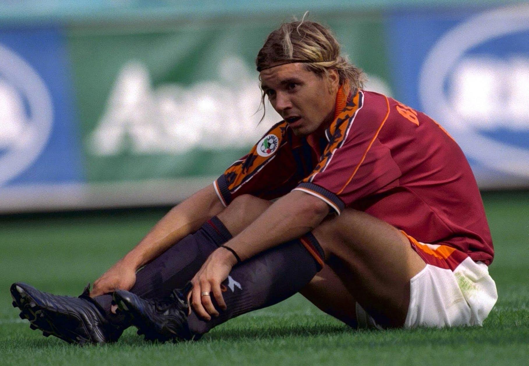 1998/99 Gustavo Bartelt con la maglia della Roma