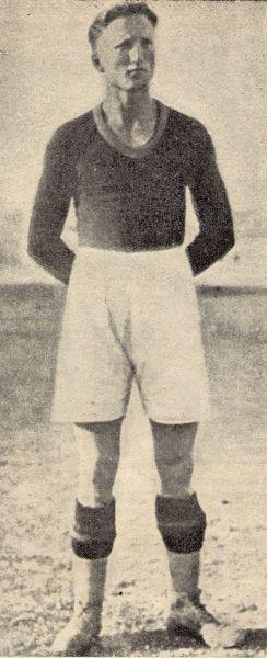 Rodolfo Volk, attaccante della Roma