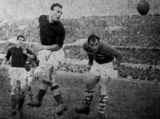 1960/61, Roma-Sampdoria 3-2, il gol vittoria di Losi